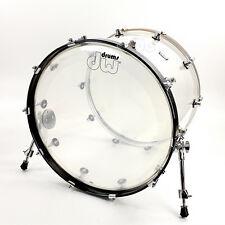 DW Drum Workshop Design Series Acrylic 18x22 Bass Drum