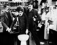 Charlie Chaplin, Albert Austin & John Rand photo - H5705 - The Pawnshop