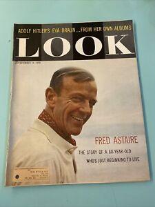 NOV 10 1959 LOOK MAGAZINE FRED ASTAIRE ADOLF HITLER'S EVA BRAUN ALBUMS