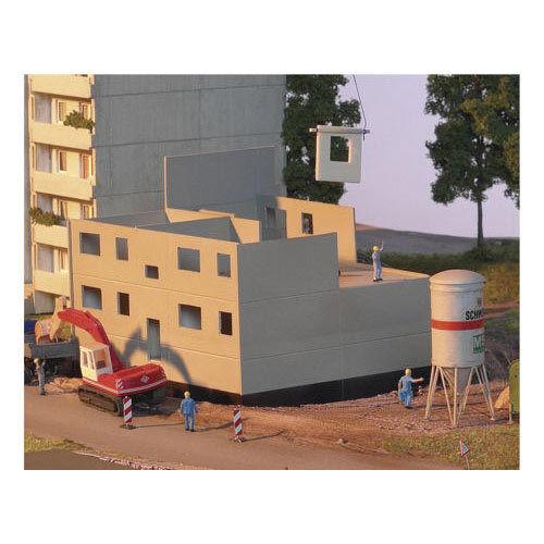 PIKO Prefab Apartment Block Basic Set Kit HO Gauge 61146