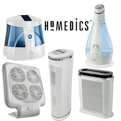 Homedics HUM 20 Warm and Cool Mist Ultrasonic UV C Humidifier