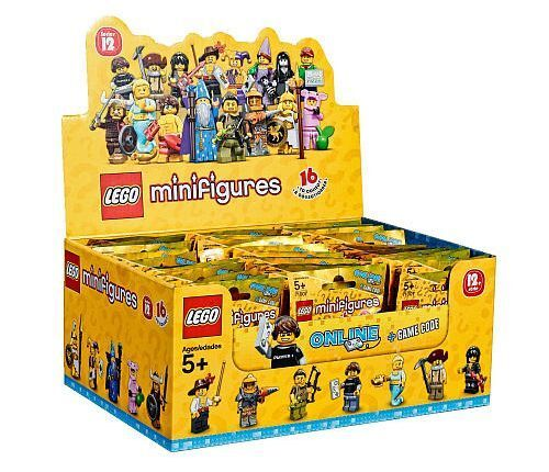 NEW SEALED LEGO 71007 Box Case of 60 MINIFIGURES SERIES 12