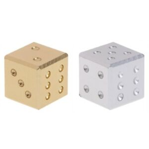 Silver-Gold-Aluminum-Metal-Dice-Club-Bar-Drinking-Playing-Game-Tool-16X16X16mm