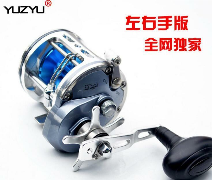 Saltwater Trolling Baitcasting Big  Game Fishing Reel ACT330  W  Line Guider  discount sale
