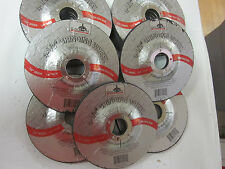 """~ 15 ~ 4-1/2"""" DISC 1/4"""" THICK 7/8"""" ARBOR GRINDING WHEEL CUTTING METAL 13,300 RPM"""