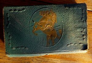 Lone-Ranger-Pencil-Kit-Box-Vintage-Cardboard-Drawer-Hi-Ho-Silver-Horse-1930-039-s