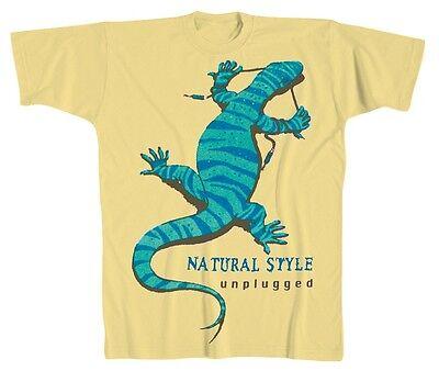Designer Marken Musik T-Shirt Natural Style Krokodil ROCK YOU© Sonderpreis 10407