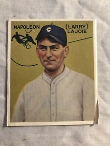 Details About 1933 Goudey Nap Lajoie Baseball Card Selling As Rp