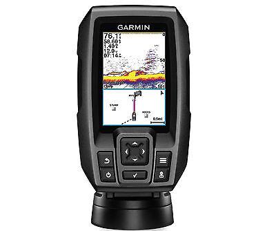 Garmin Striker 4 Sonar Fishfinder GPS Plotter Combo Color Display Depth Mount