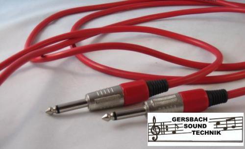 Analytisch Klinke Kabel Mono Länge 0,5 Meter Rot Grade Producten Volgens Kwaliteit