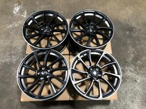 19 Black/Machined Undercut Wheels 5x112 for Audi Cars Calgary Alberta Preview