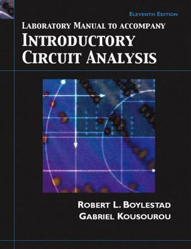 laboratory manual to accompany introductory circuit analysis rh ebay com