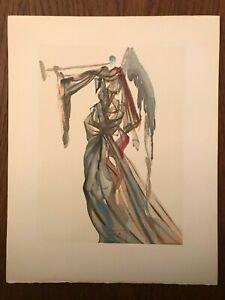La Divine Comédie - Gravure Salvador Dali - PARADIS