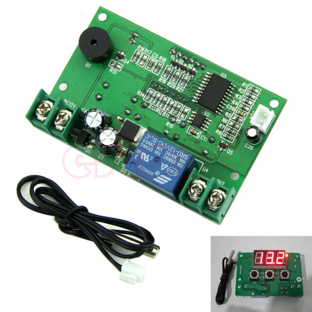 DC12V Digital Temperature Controller Control Switch Thermostat Temp Relay Sensor