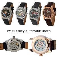 Walt Disney Automatik Uhren 3 Atm Mit Bunten Abbildungen Von Disney Figuren