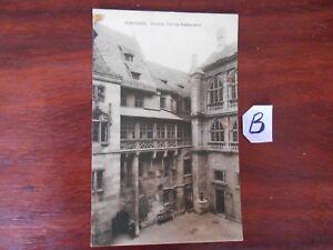 Carte Postale Beyer Nuremberg Aîné Partie Au Rathaushof-afficher Le Titre D'origine