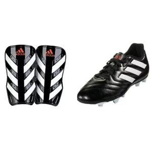 New in Box-Adidas Goletto VII Fg J Noir/Rouge/Blanc Football Crampons-Jeunesse Sz 6