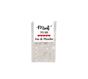 Details Zu 24x Personalised Wedding Stickers For Tic Tac Favour Mint To Be Labels