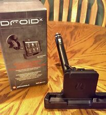 DroidX car cradle charger