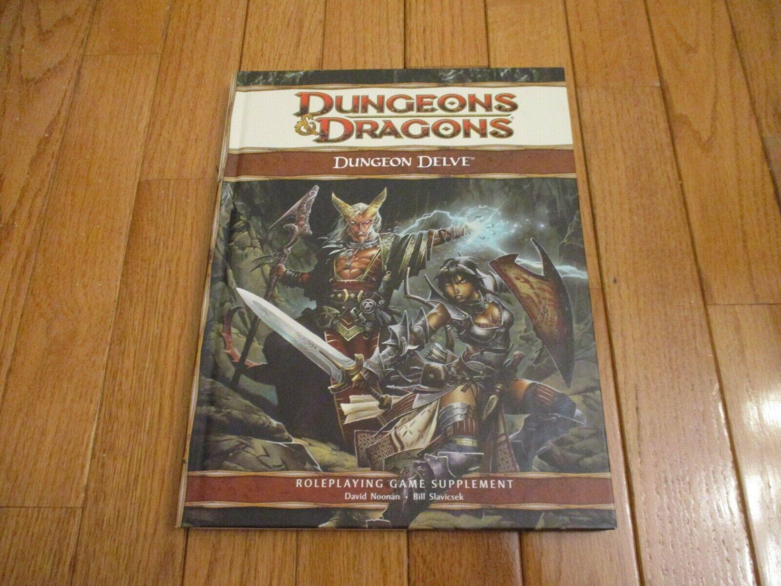 D&D D20 4.0 4th Ed Dungeon profundizar