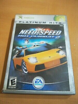 Xbox Platinum Hits Need For Speed Hot Pursuit 2 Comes With Case