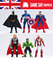 thumbnail 1 - Marvel Avengers Super Hero Incredible Action Figure Toy Doll Collection 6pcs/set