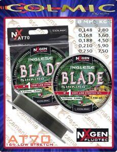 Monofilo-Giapponese-mulinello-Colmic-Blade-mt-150-affondante