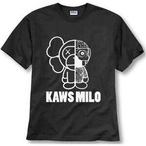 9cf15c807 A-Bathing-Ape-OG-Bape-Baby-Milo-x-Kaws-Reversible-Short-Sleeve-Tee-S ...
