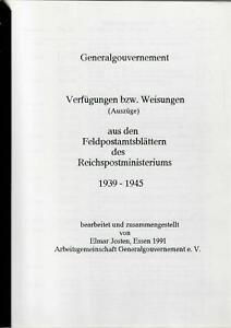Generalgouvernement-GG-Verfuegungen-und-Weisungen-aus-Feldpostamtsblaettern