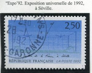 STAMP-TIMBRE-FRANCE-OBLITERE-N-2736-EXPOSITION-SEVILLE-1992