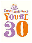 Congratulations You're 30 by Summersdale Publishers (Hardback, 2016)