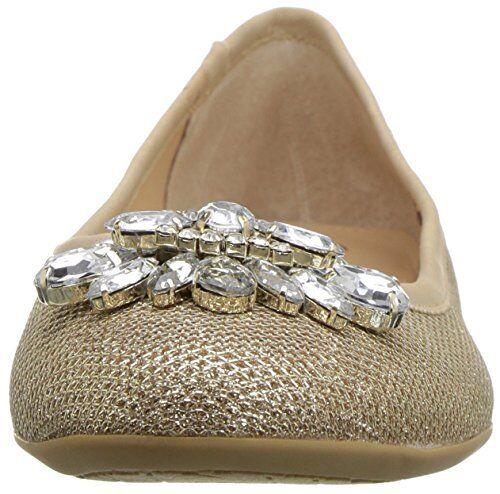 Pick SZ//Color. Jewel Badgley Mischka Womens Cabella Ballet Flat