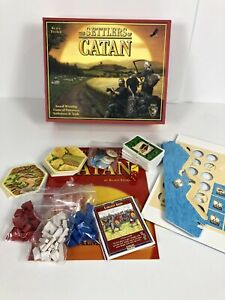 The Settlers of Catan Board Game Mayfair Games 100% Complete Open Box 3061