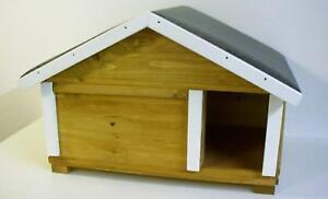 Maison de chat en plein air chat cave boîte de mise bas Boîte de petit animal House Maison de lapin isolée