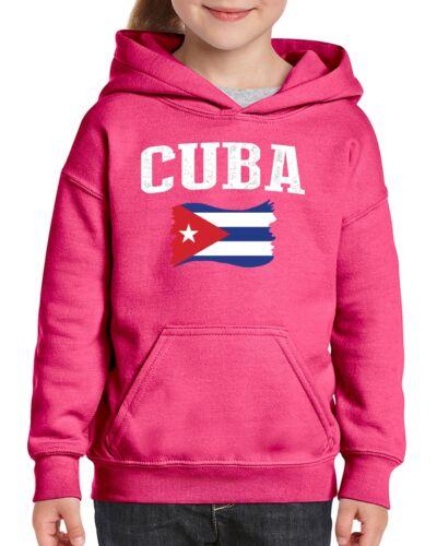 Cuba  Youth Hoodie Hooded Sweatshirt