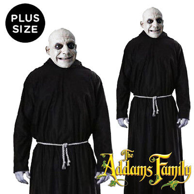 Adult Old Time Creepy Festering Uncle Halloween Family Fancy Dress Costume