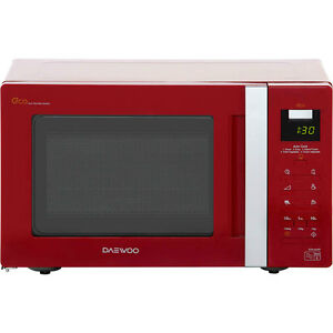 Daewoo KOR6A0RR 800 Watt Microwave Free Standing Red New from AO