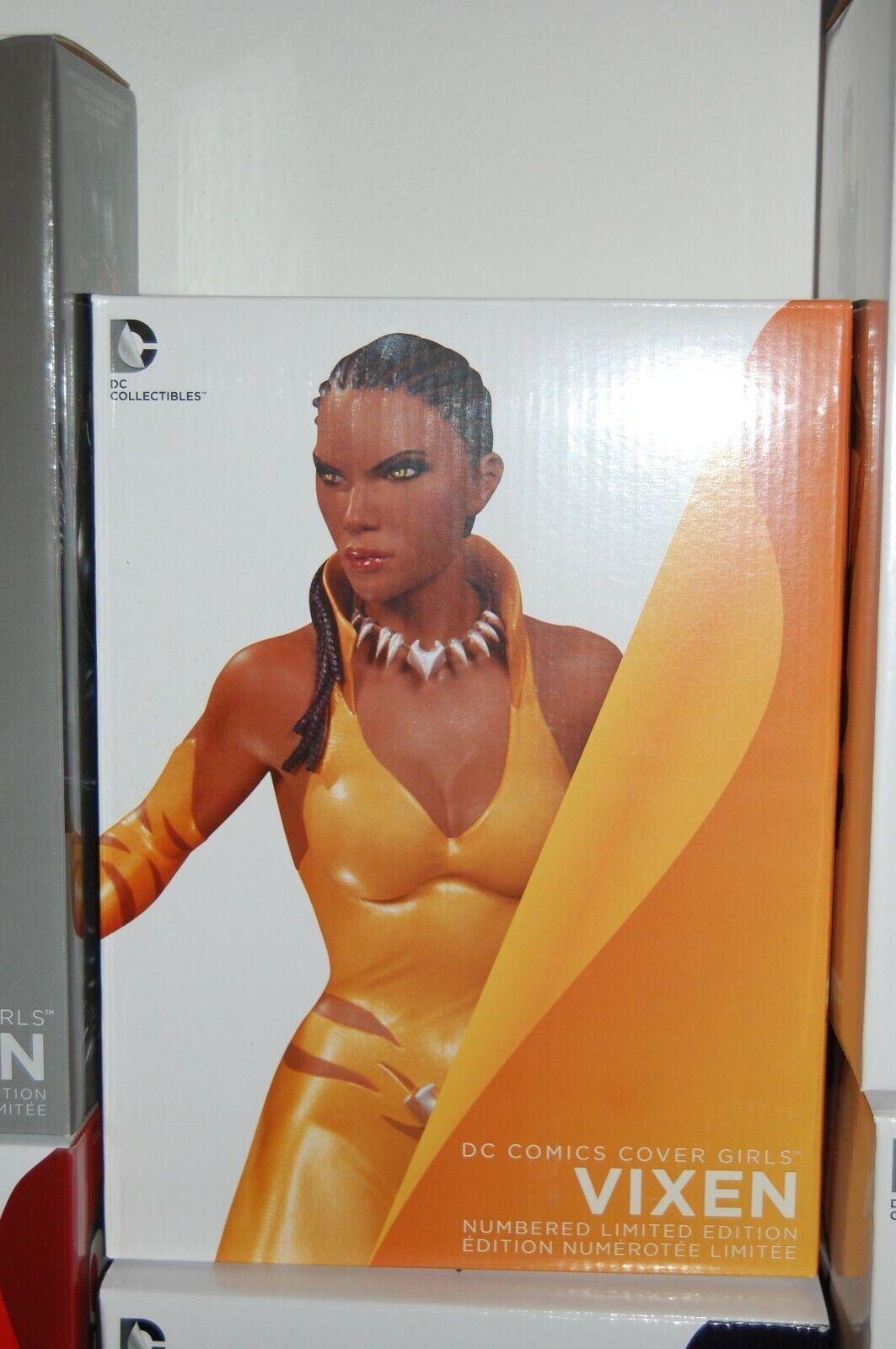 DC COMICS COVER GIRLS STATUE VIXEN NO WONDER WOMAN WOMAN WOMAN BATMAN SUPERMAN JOKER FLASH 4ad8bb