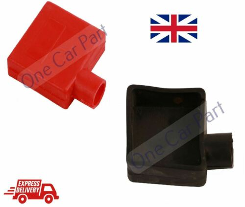 Car Battery Clamp Terminal Insulation Left Right Cover Positive Negative