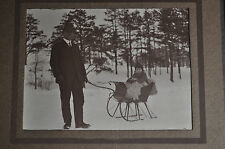 *EARLY* Baby in Sled Photo