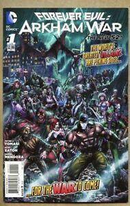 Forever-Evil-Arkham-War-1-2013-nm-9-2-New-52-Standard-cover-Jason-Fabok