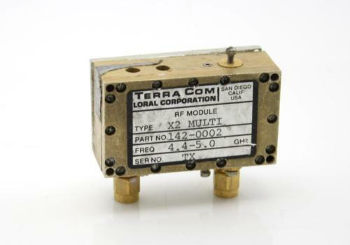 Multiplier X2  In:2.2-2.5Ghz Out:4.4-5GHz Microwave Frequency Freq