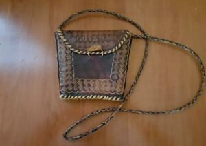 Handcrafted Leather Purse Crossbody
