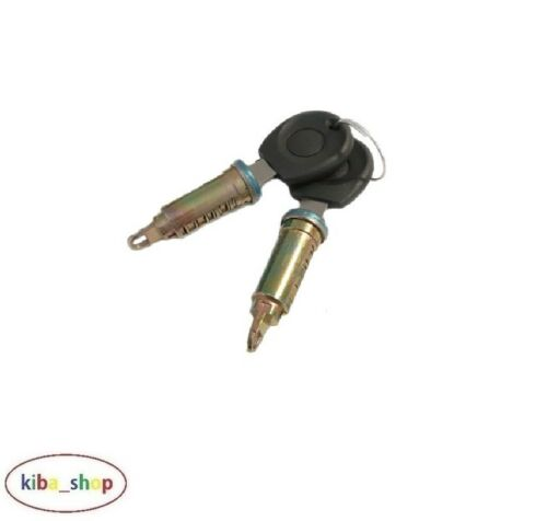 KEYS SET LEFT RIGHT SEAT CORDOBA 6K 1993-1999 NEW DOOR LOCK CYLINDERS