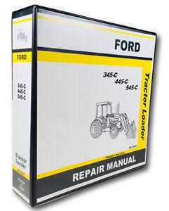 ford    tractor loader service repair manual