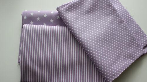 asterisco lilas De toalla 3 x 50 x 150 estrella rayas