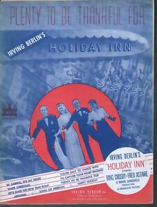 Plenty-To-Be-Thankful-For-1942-Holiday-Inn-Bing-Crosby-Fred-Astaire-Sheet-Music