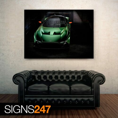 2016 ASTON MARTIN VULCAN 0062 Car Poster Photo Poster Print Art * All Sizes