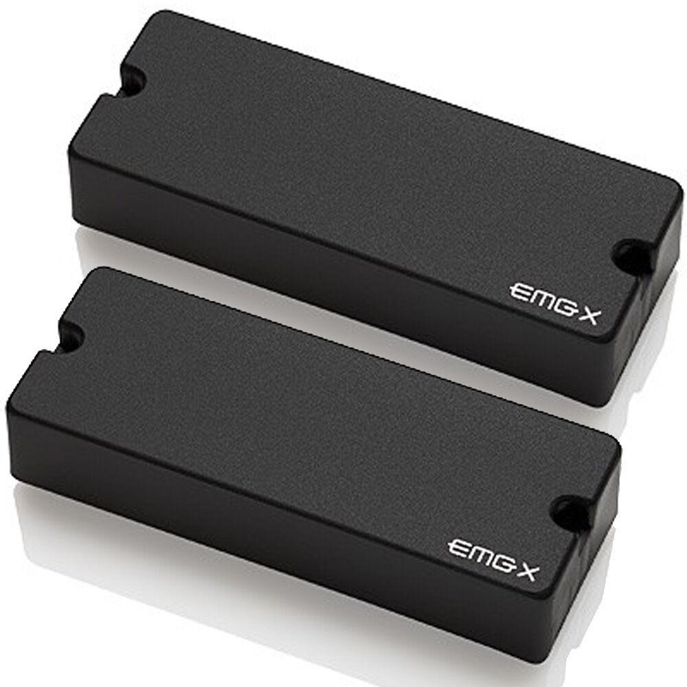 EMG 40DCX X Series Active Dual Coil 5-String Bass Pickup Set (ceramic) - schwarz