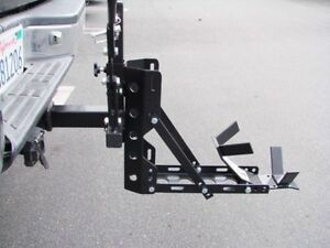 Portable-Motorcycle-Trailer-Carrier-Tow-Dolly-Hauler-Rack-Hitch-800lbs-Capacity